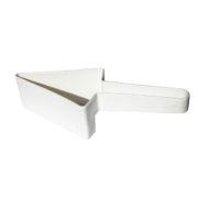 Fatiador de Bolos Triangular – Branco